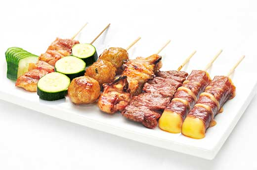 B5 MENU BROCHETTES