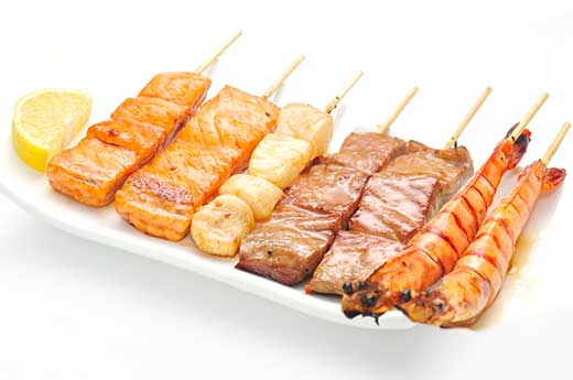 B6 MENU BROCHETTES